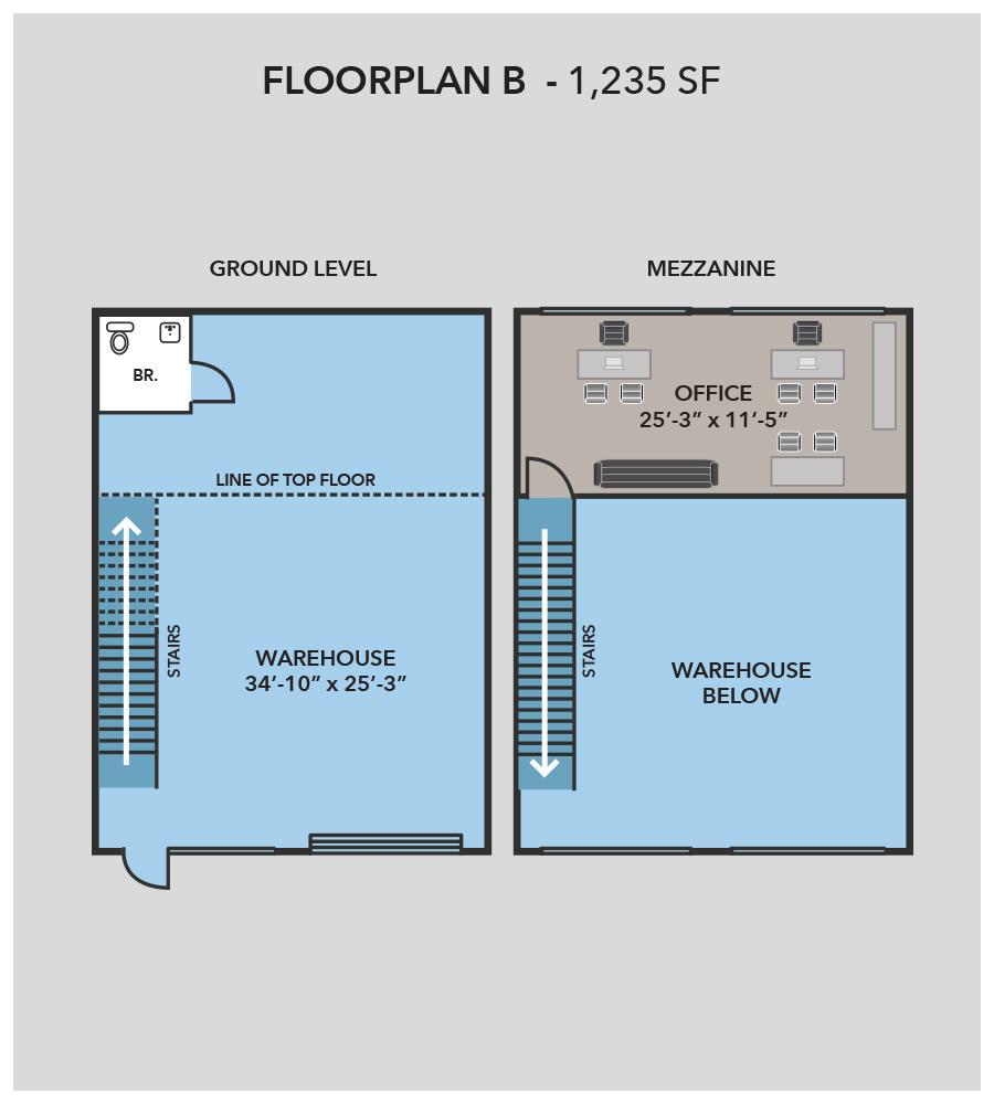 Stirling business center warehouses for rent for Warehouse building plans